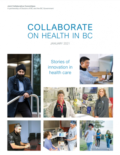 cover of Collaborate on Health in BC magazine